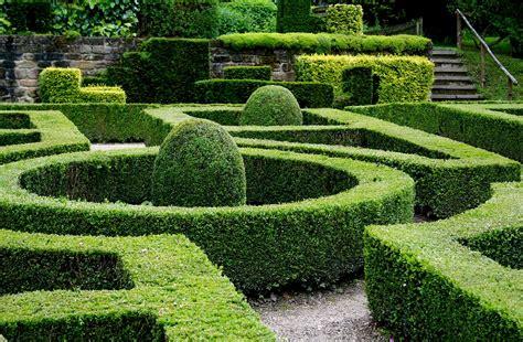 Formal Garden : A Formal Garden In Eastern Europe