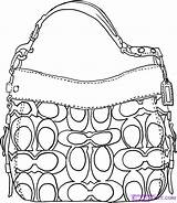 Coach Handbag Pages Draw Coloring Gucci Bag Step Drawing Handbags Colouring Purse Purses Drawings Dragoart Accessories Sketches Belt Illustration Ladies sketch template