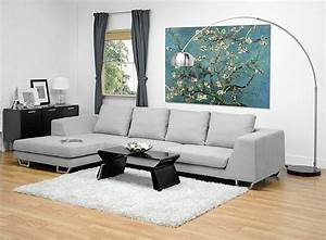 Metropolitan large grey sectional sofa with chaise for Metropolitan sectional sofa chaise