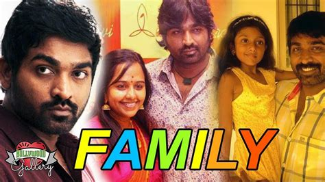 Vijay Sethupathi Family With Parents, Wife And Children