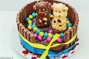 Dessert Paques Original : recette de g teau de p ques kitkat ~ Dallasstarsshop.com Idées de Décoration