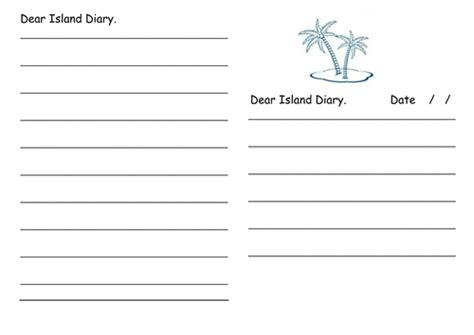 diary writing template ks1 how to write a diary entry by ian markforsyth teaching resources tes