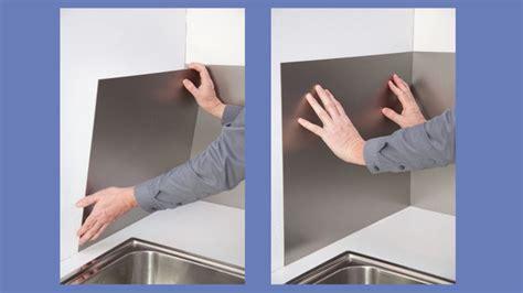credence cuisine facile à poser poser une crédence de cuisine en aluminium