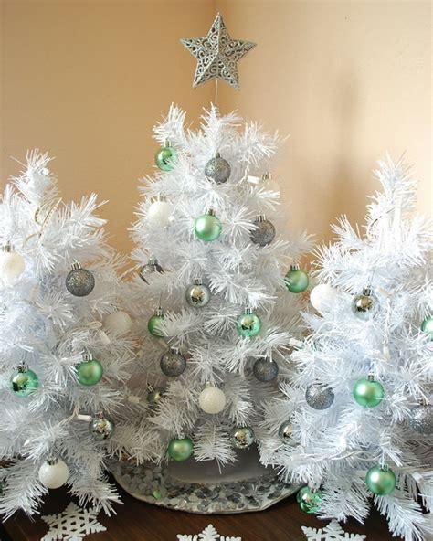 arboles navidad pequenos decorados diseno casa