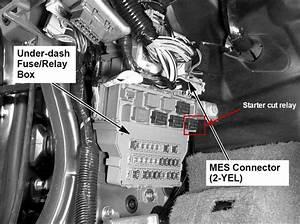 1998 Honda Civic Starter Relay Location