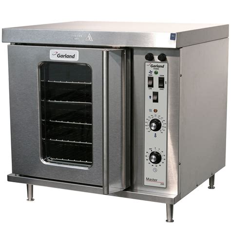 oven convection electric garland deck half single phase 240v extra webstaurantstore mco kw