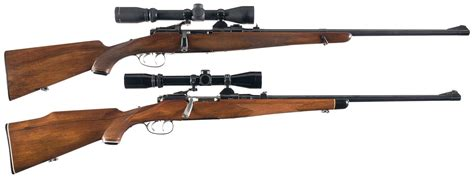 Two Steyr Bolt Action Rifles with Riflescopes - Revivaler
