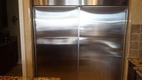 ge monogram zirsnmhrh refrigerator   separate   freezer  drain