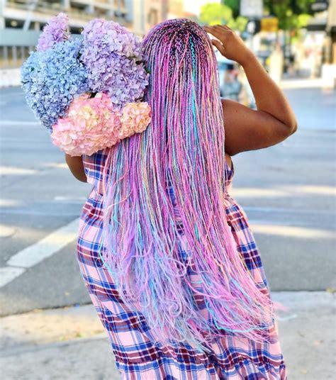 micro braids hairstyles  african american women