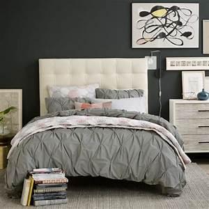 Tete De Lit Blanche : choisir une t te de lit en tissu avantages et conseils ~ Premium-room.com Idées de Décoration