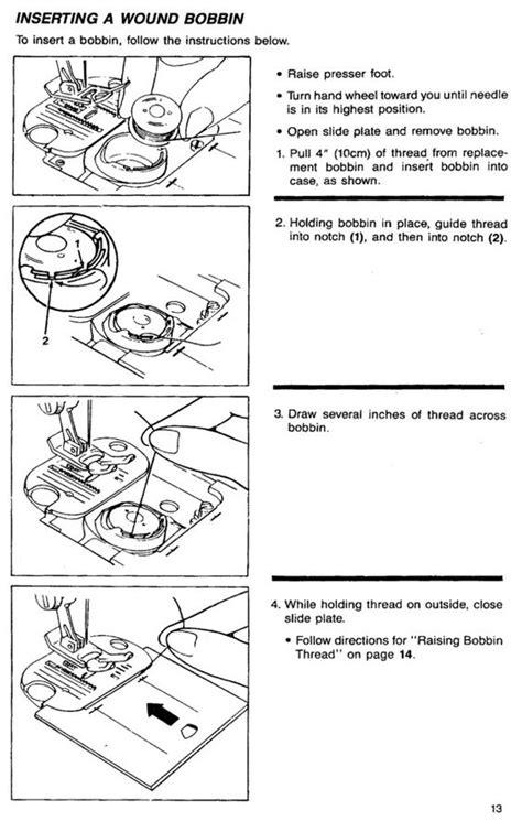 Singer Sewing Machine Threading Diagram