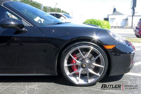 Porsche 991 911 Targa 4 Gts With 21in Hre P101 Wheels