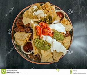 Delicious Mexican Food On A Plate Stock Photography - Image: 33992102