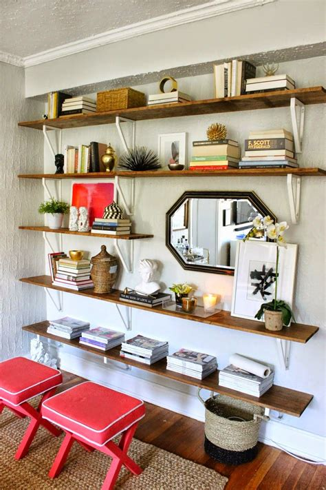 Wall To Wall Shelving by Best Of The Nest August Features I Shelves Ikea