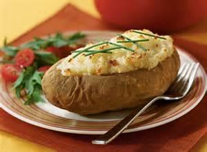Baked Idaho Potatoes