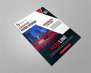 Professional, Business, Flyer, Design, Template, Free, Psd