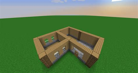 minecraft house tutorial step  step pictures