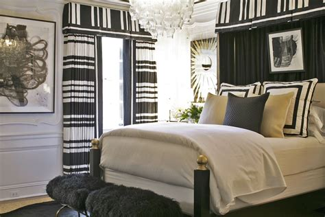 Adamsleigh Designer Showhouse by Megan Winters Designed A Guest Room With Graphic Appeal
