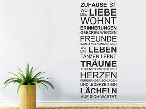 Sprüche Zur Hauseinweihung : wandtattoo spr che 21 tolle deko ideen badezimmer ~ Lizthompson.info Haus und Dekorationen