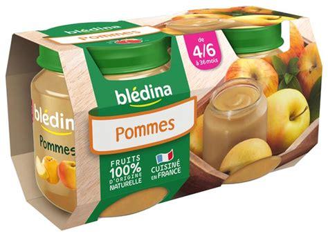 petit pot 6 mois bledina mon 1er petit pot 2x130g pommes d 232 s 4 6 mois bl 233 dina