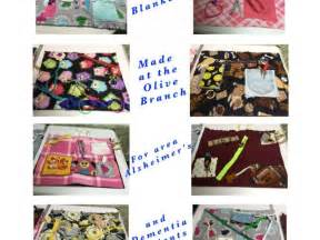 Busy Blankets For Alzheimer's/dementia Patients
