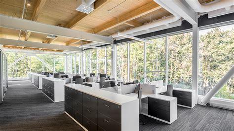 construction bureau nouveaux bureaux de pomerleau par kollectif