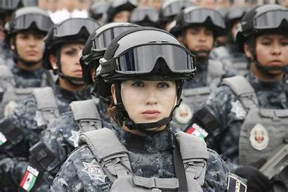 Police Mexican Soldier Female Mexico Wallpapers Desktop