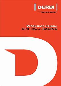Gpr125 Service Manual