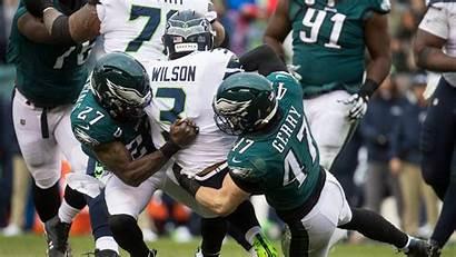 Seahawks Eagles Nfl Playoff Loss Face Season