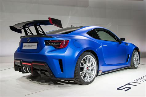 subaru brz custom subaru brz sti performance concept unveiled at 2015 new