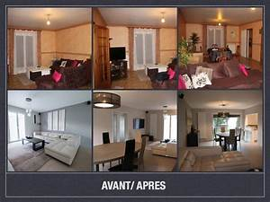 Avant apres projet de decoration et d39amenagement d39espace for La maison du dressing 4 idees relooking interieurpeinture sur meuble recup