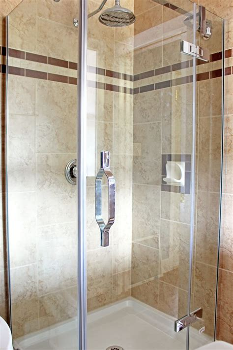 shower stall tiled floor  ceiling bathroom ideas
