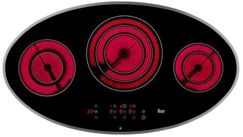 Teka vitroceramic cooktop   the shape designed hob