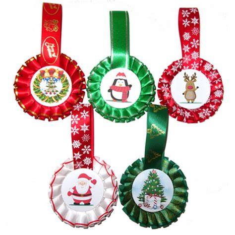 christmas tree decorations pack of 5
