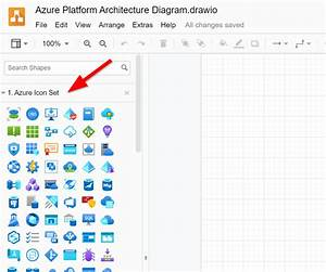 Working With Azure Icons In Draw Io  Diagrams Net