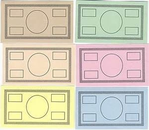blank play money template have students design the With classroom bucks template