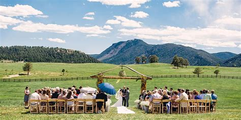 spruce mountain ranch weddings  prices  wedding