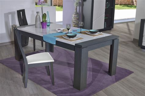 table de cuisine en verre avec rallonge table de cuisine moderne en verre beautiful table de