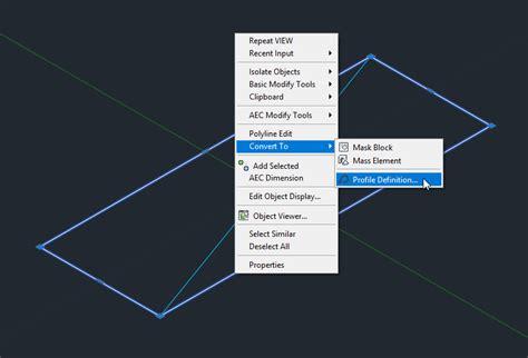 The Architect Desktop Aca Custom Profile For Railing
