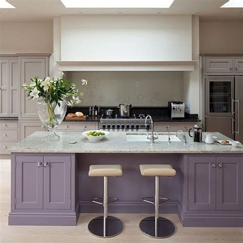 farrow and kitchen ideas love contrasting colour on island farrow and ball brassica k i t c h e n d i n i n g