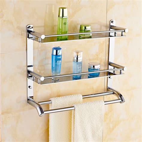 bathroom storage rack free shippin 304 stainless steel bathroom shelf toilet
