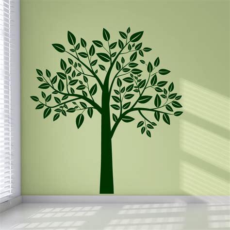 tree sticker wall decor leafy tree wall stickers wall decal transfers ebay