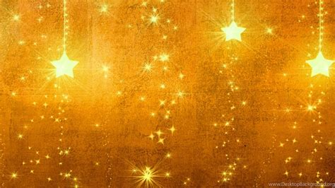 Download Wallpapers 3840x1200 Star, Gold, Holiday, Backgrounds ... Desktop Background