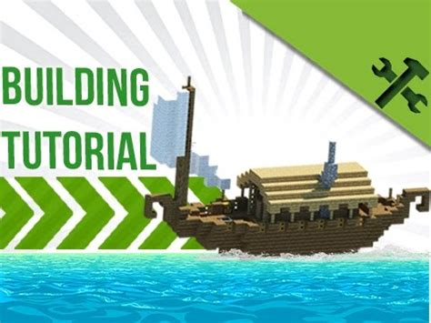 minecraft simple boat house build tutorial youtube