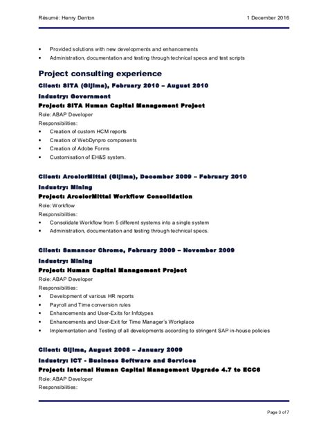 Sap Mm Resume 4 Years Experience by Sap Mm Support Resume Charity Letter Charity Letter To