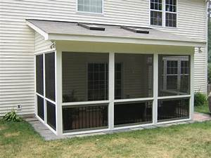 Shed Roof Sun Room Addition For Two-Story Homes - Project