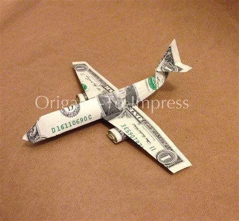 boeing  money origami dollar bill art