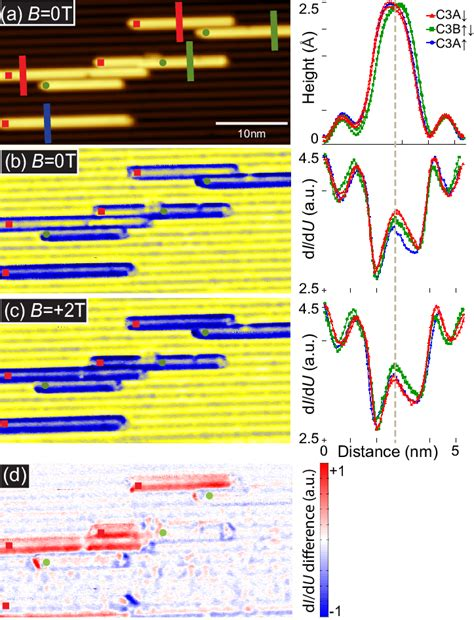 He does research in condensed matter physics, in particular nanoscience, surface and interface physics, magnetism. (color online) (a) SP-STM image of zigzag Co chains which ...