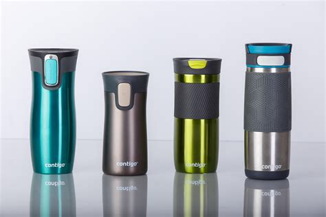 Contigo Autoseal West Loop Stainless Steel Travel Mug, 470 ml   Stainless Steel: Amazon.co.uk