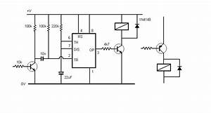 555 timer page With the relay will be held in the energised state until the bottom switch